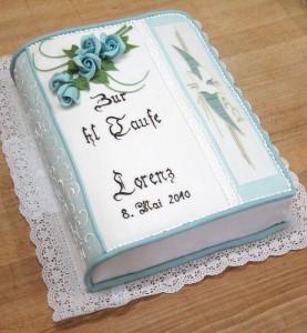 Torte zur Taufe