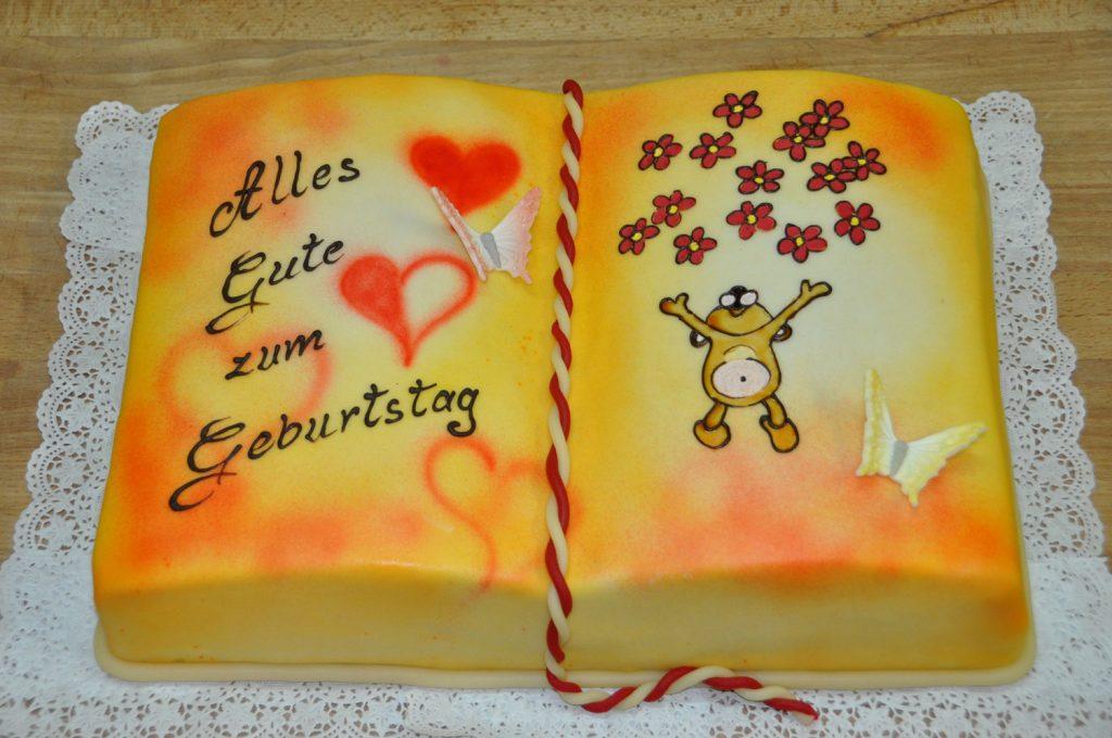 Torte zum Geburtstag für Kinder