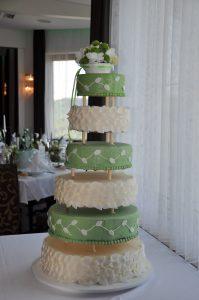 mehrstöckige Torte