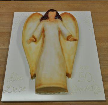 Engel Geburtstagstorte