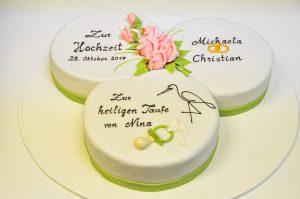 Hochzeits-& Tauftorte