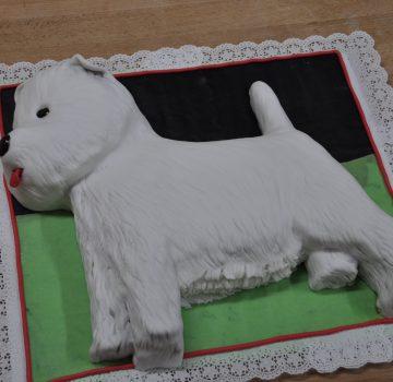 Hund Geburtstagstorte