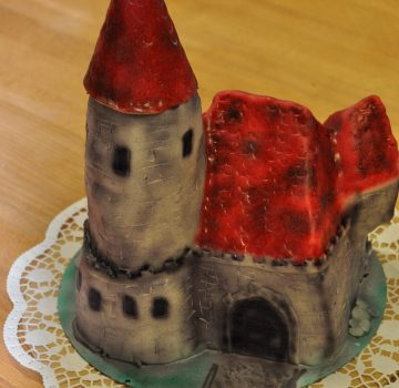 Burg Geburtstagstorte