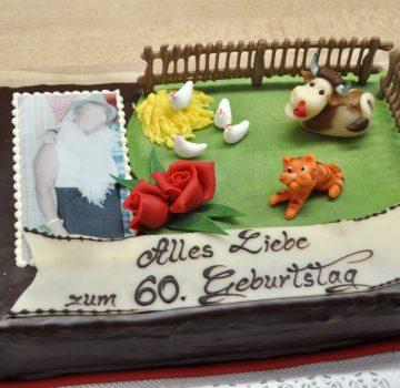Geburtstagstorte Bauernhof
